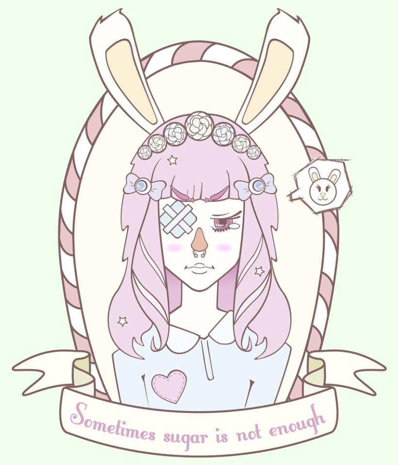 Ilustración para la marca Hard Candy 2
