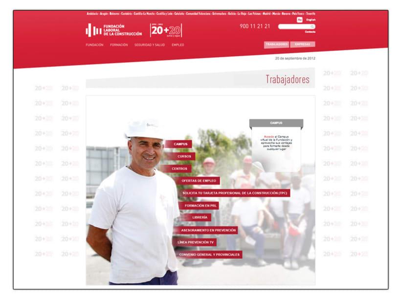 Fundación Laboral de la Construcción (Web) 7
