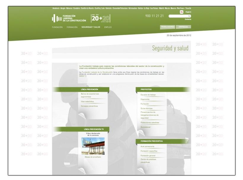 Fundación Laboral de la Construcción (Web) 5