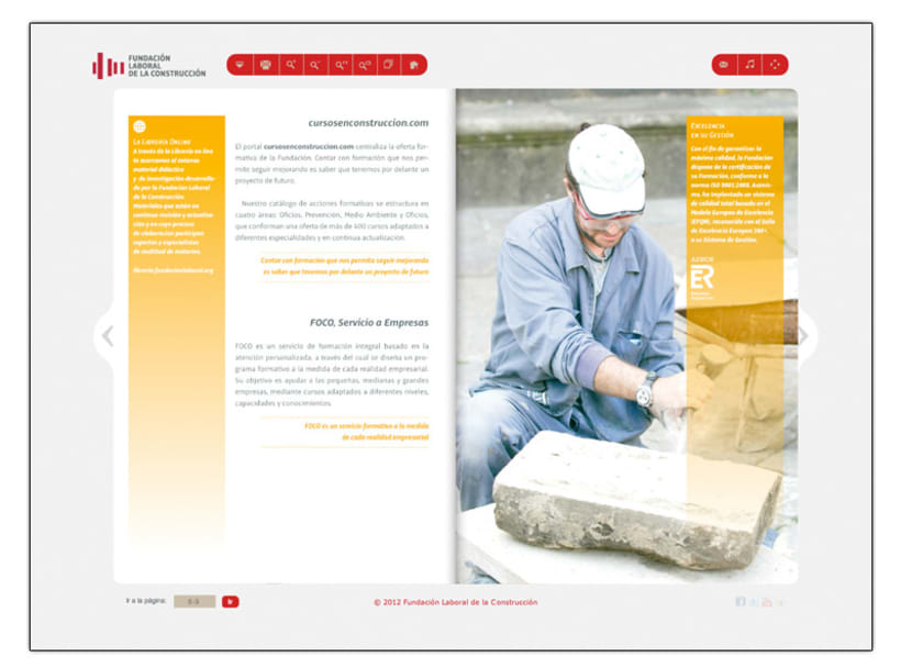 Fundación Laboral de la Construcción (Web) 3