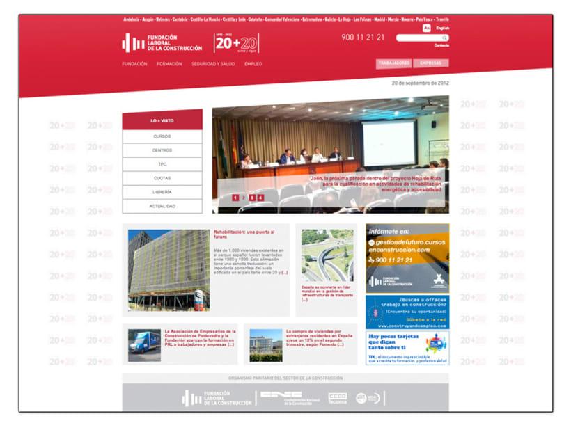 Fundación Laboral de la Construcción (Web) 1