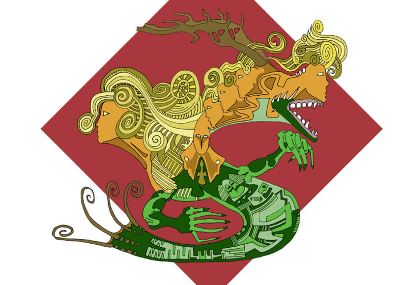 Dragón Sant Jordi 1