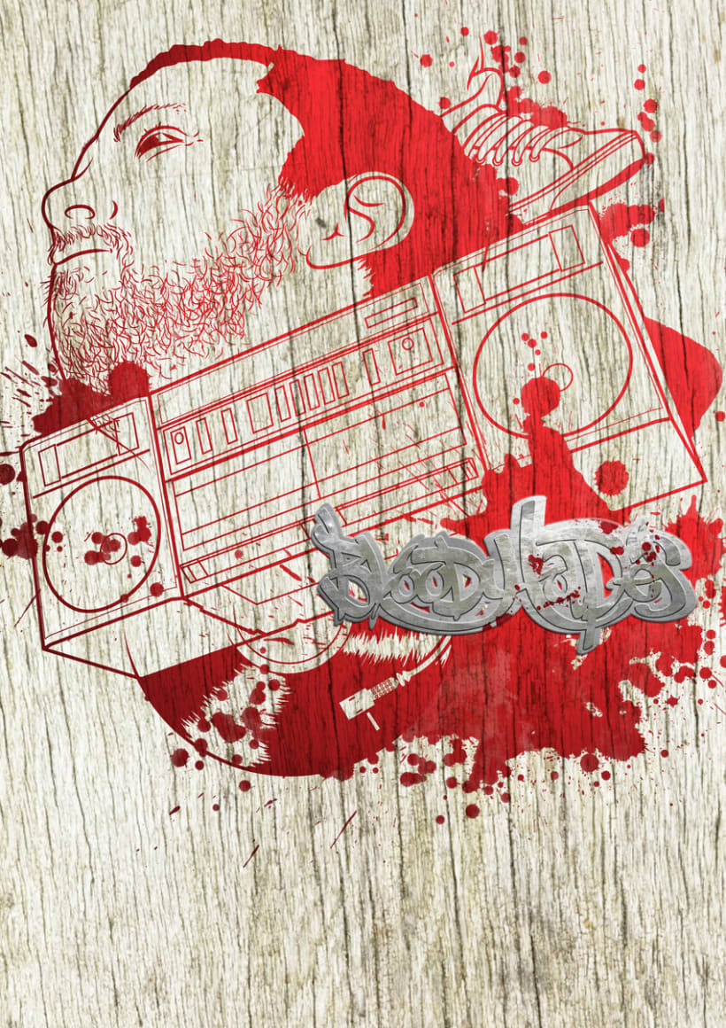 Portada Mixtape Bloody Tapes 2