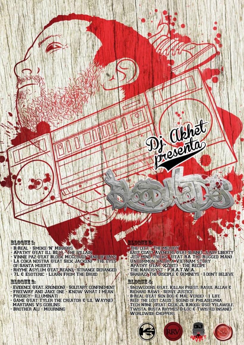Portada Mixtape Bloody Tapes 3