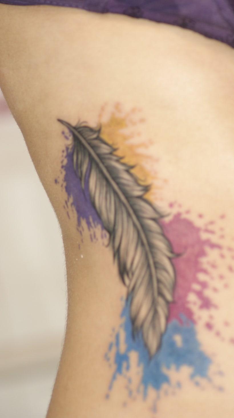 design tattoo and tattoo of my gf 2
