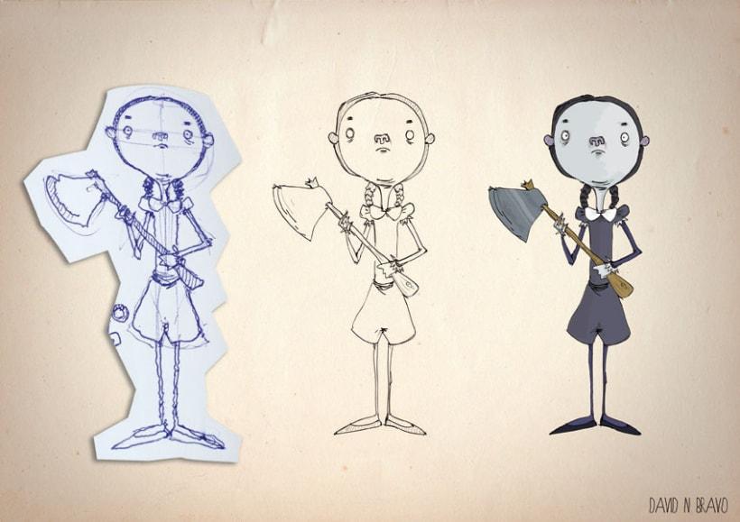 Diseño de personajes 2