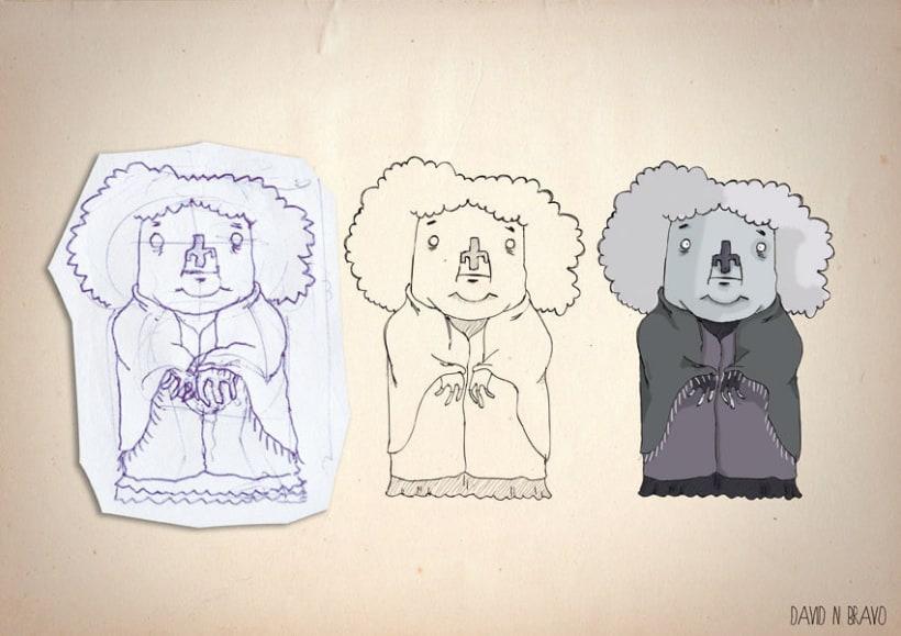 Diseño de personajes 7