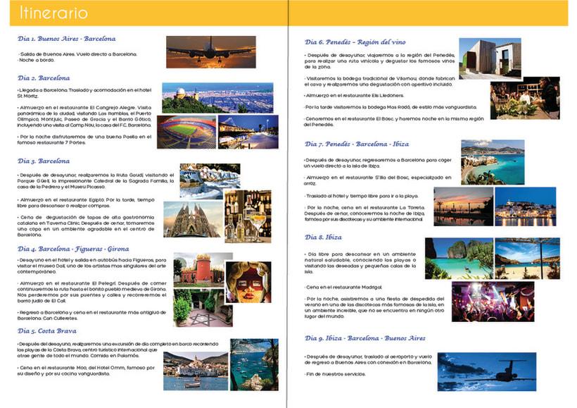 Perfiles de viaje para España Aqui y CVC 25