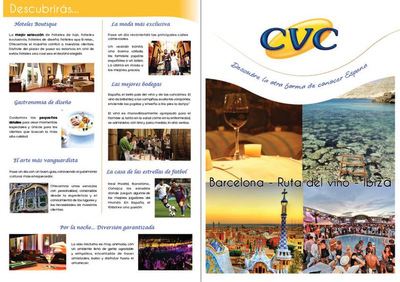 Perfiles de viaje para España Aqui y CVC 23