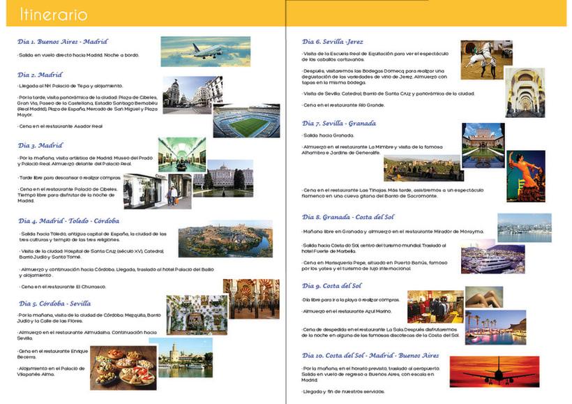 Perfiles de viaje para España Aqui y CVC 17