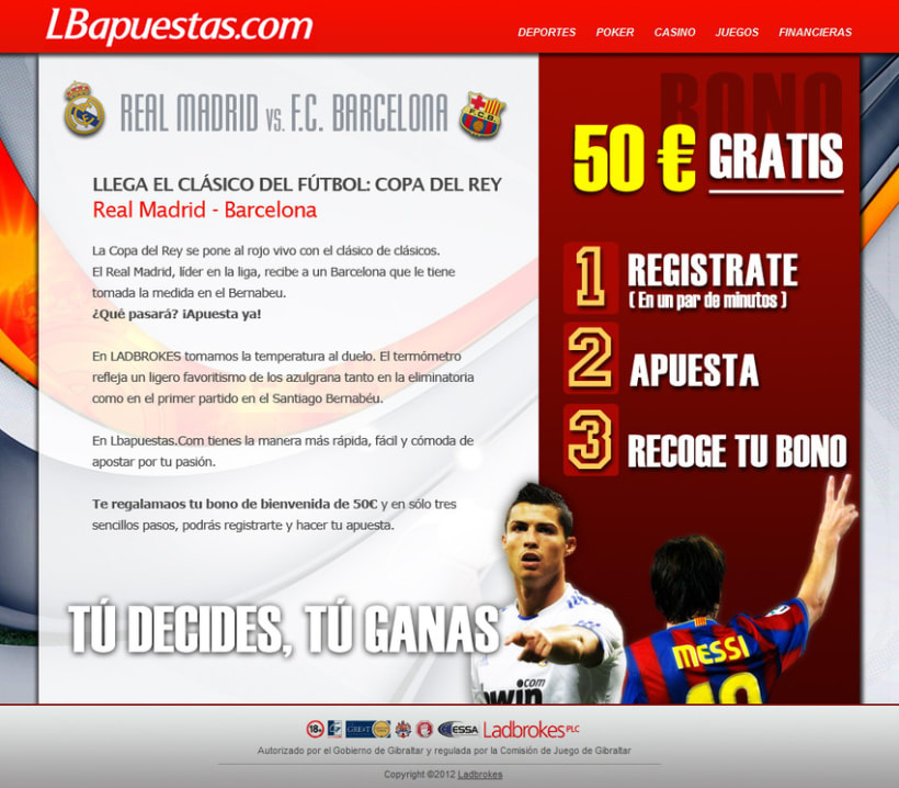 Campaña Sports para Lbapuestas.com 1