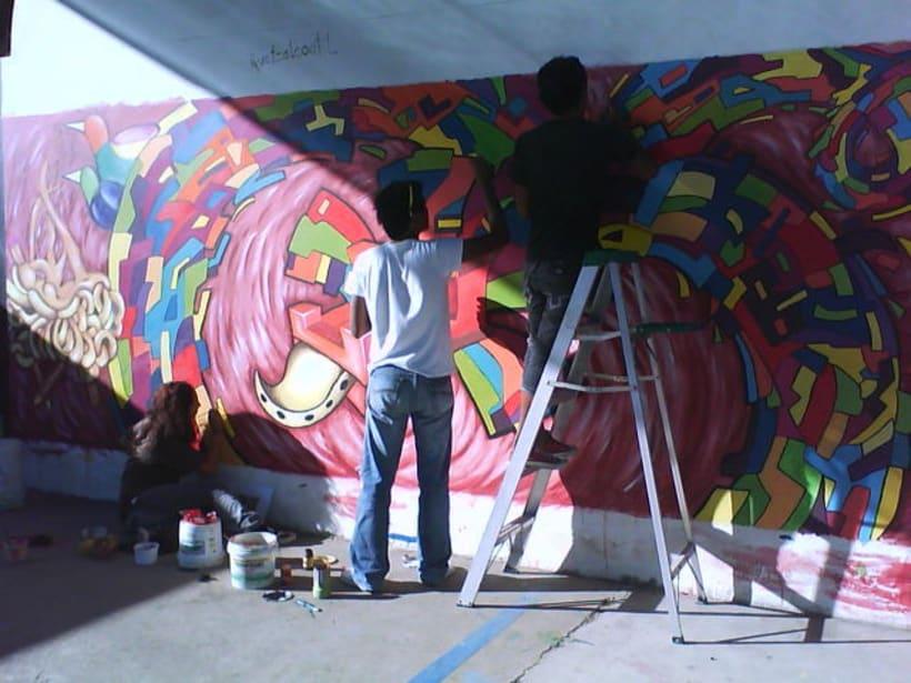 quetzalcotl mural 5