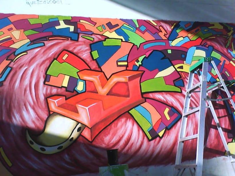quetzalcotl mural 2