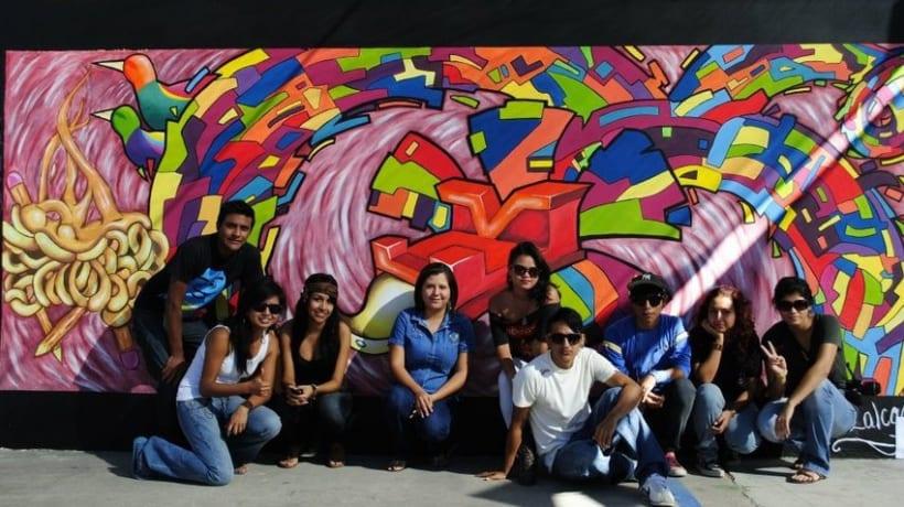 quetzalcotl mural 1