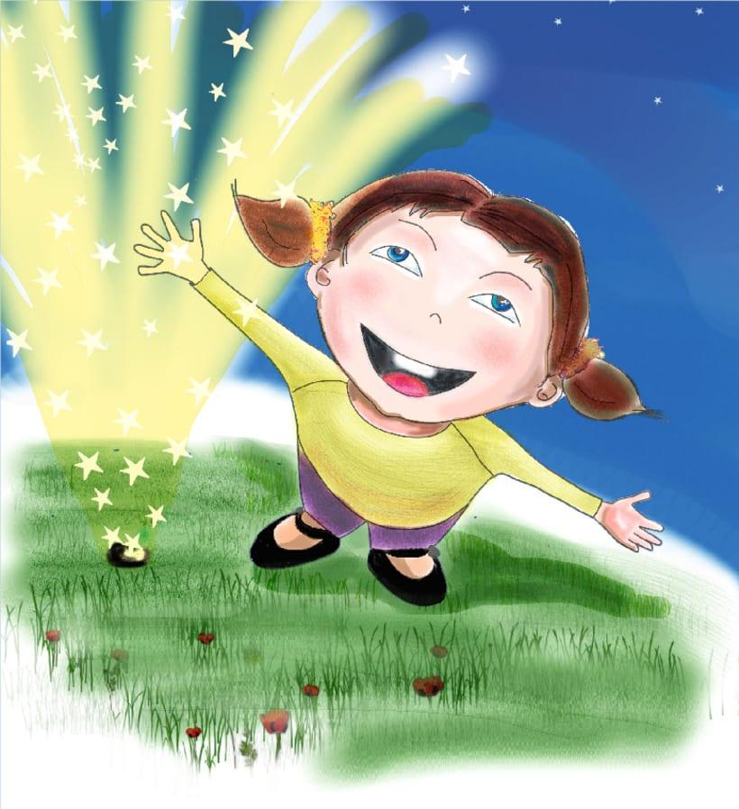 il·lustració interior contes infantils 1