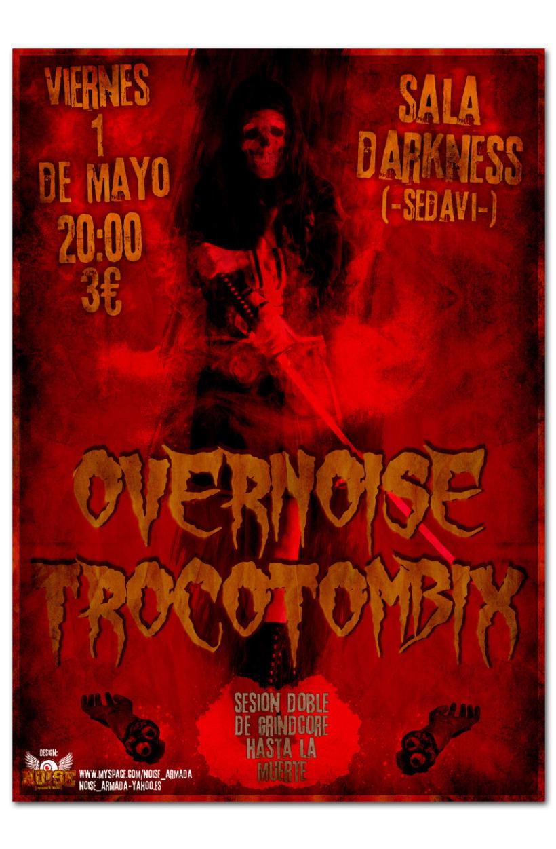 OVERNOISE + TROCOTOMBIX | poster 1