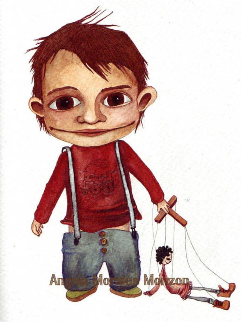 Lolo, el niño que temía a los payasos 1