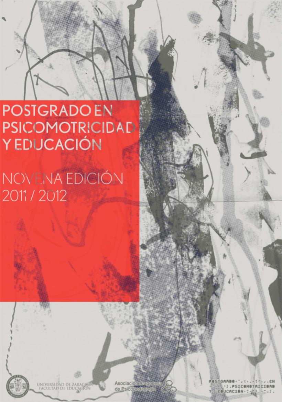 Psicomotricidad y Educación 2011 1