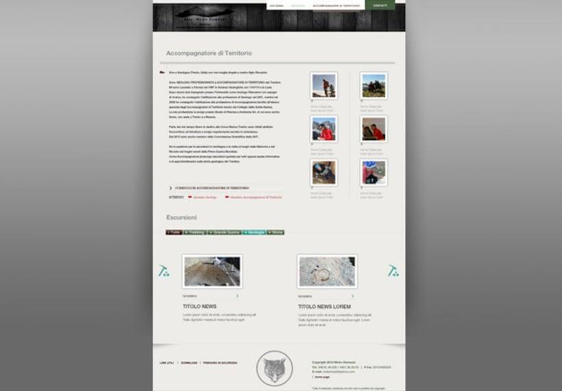 diseño web para un geologo 2