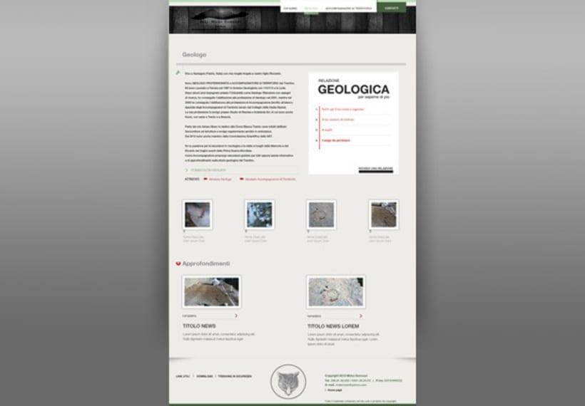diseño web para un geologo 3