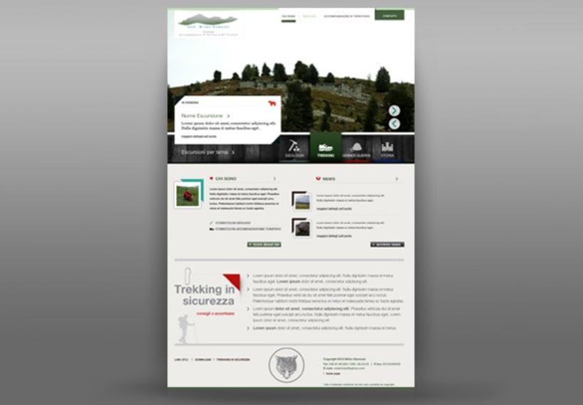diseño web para un geologo 1