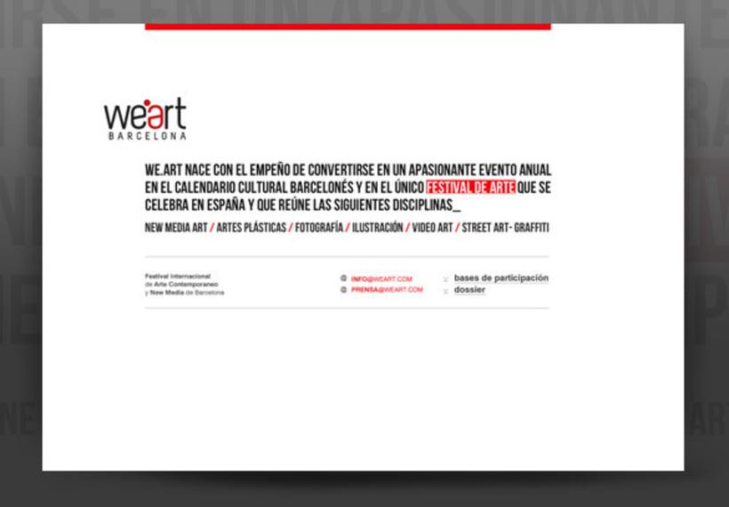 Diseño proyecto para Weart 12