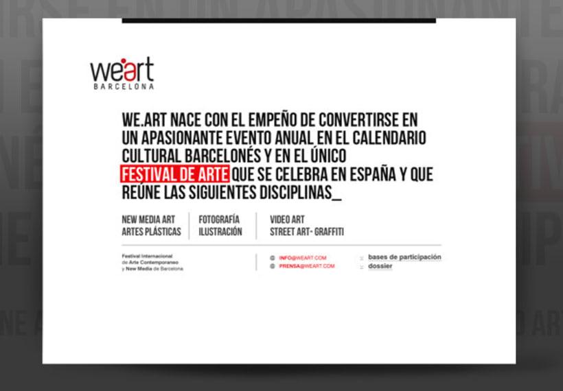 Diseño proyecto para Weart 13