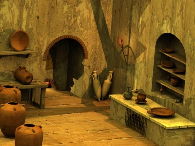 Cocina Romana 3D 2