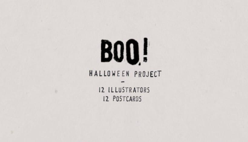 BOO! Halloween project 1