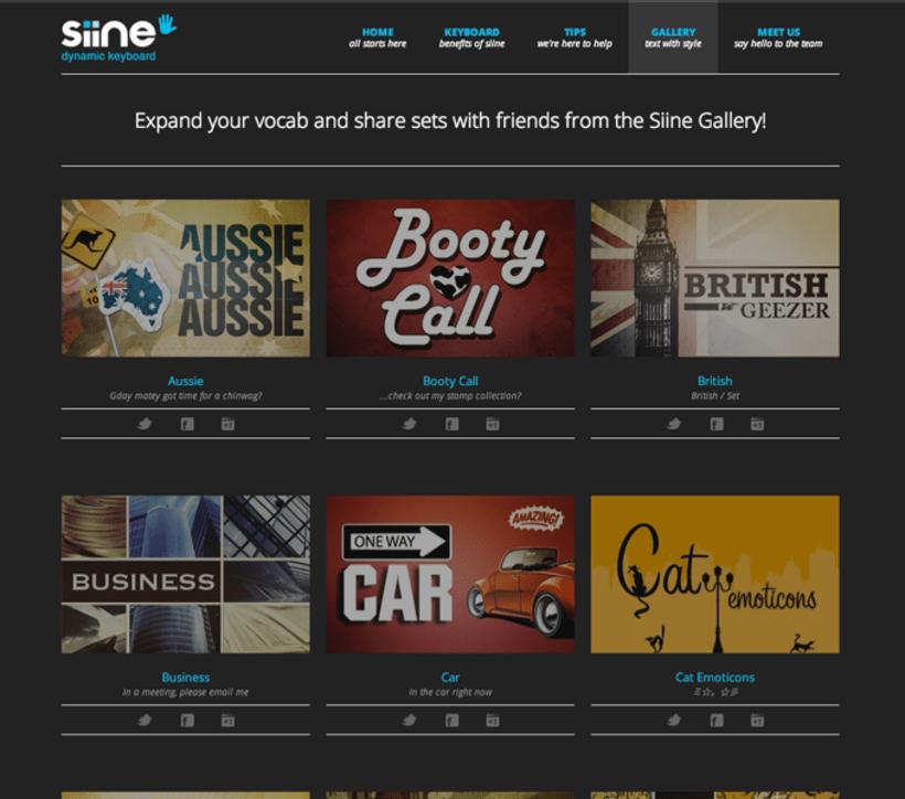 Siine website 4
