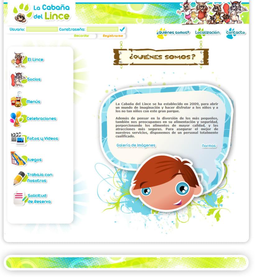 Web La Cabaña del Lince 5