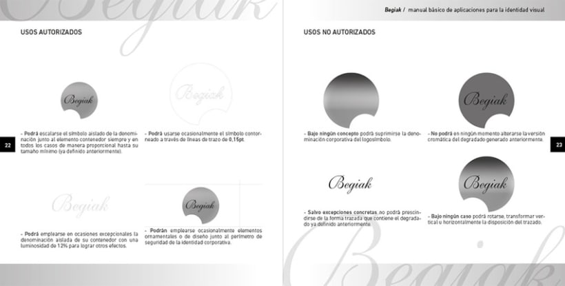 Begiak Manual de Identidad Visual 3