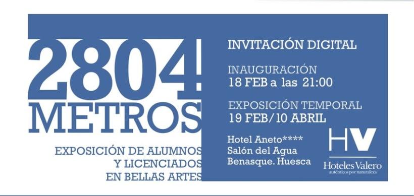 """""""2804 METROS"""" Exposición 6"""