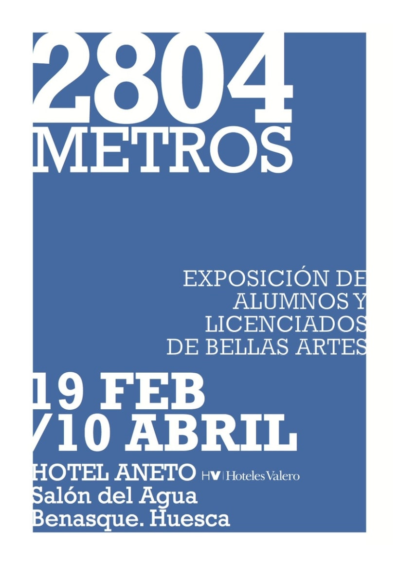 """""""2804 METROS"""" Exposición 2"""