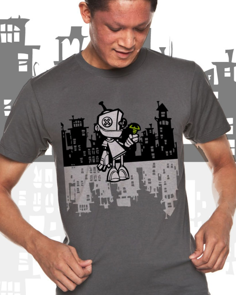 Camiseta Robot 5