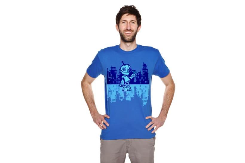 Camiseta Robot 4