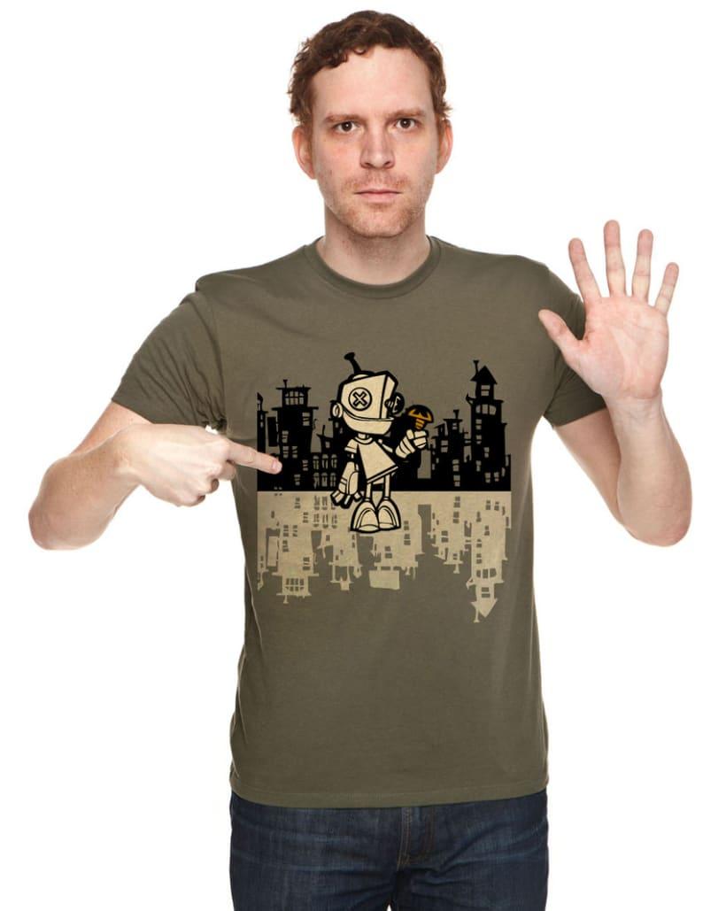 Camiseta Robot 3