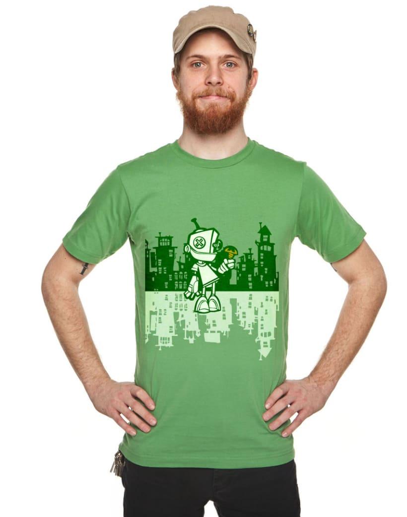 Camiseta Robot 2