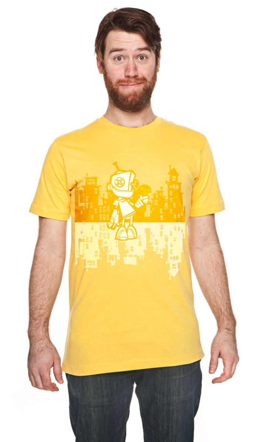 Camiseta Robot 1