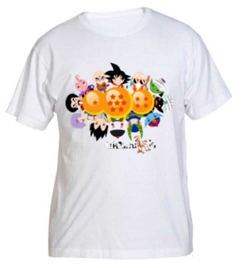 Camiseta Bola de Dragón 7
