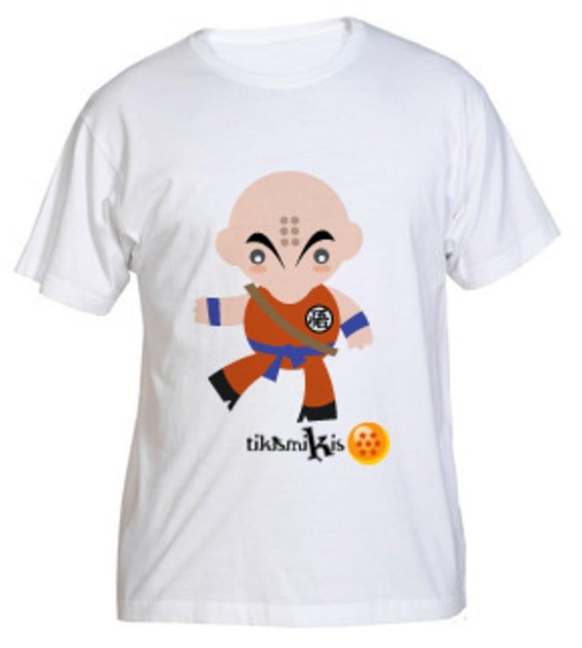 Camiseta Bola de Dragón 5