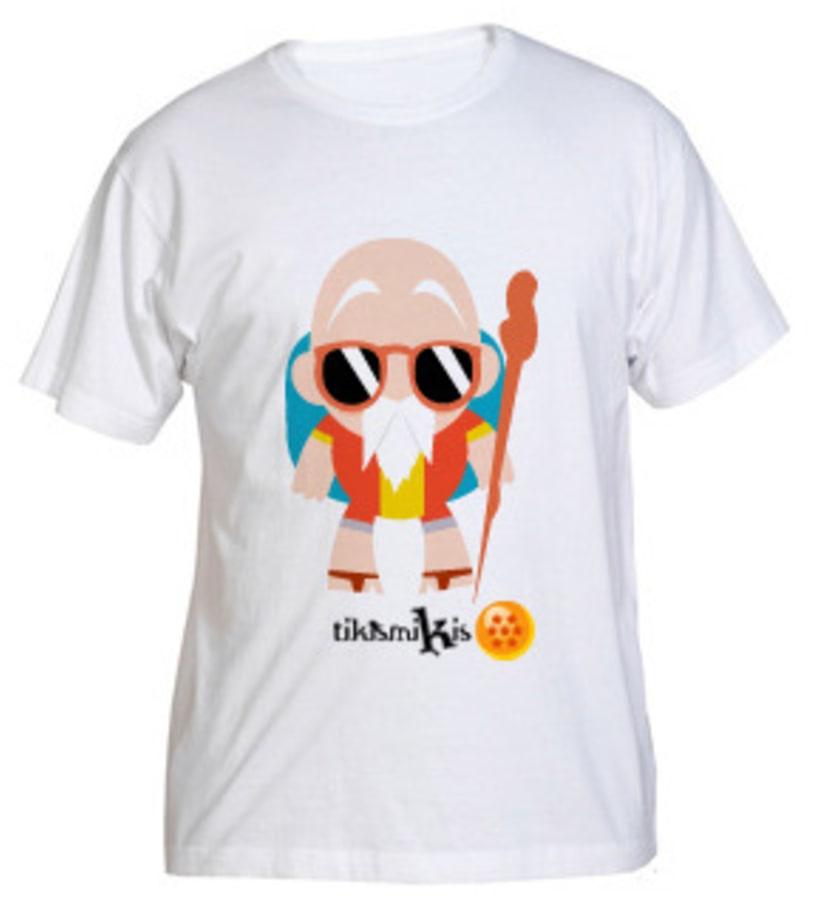 Camiseta Bola de Dragón 4