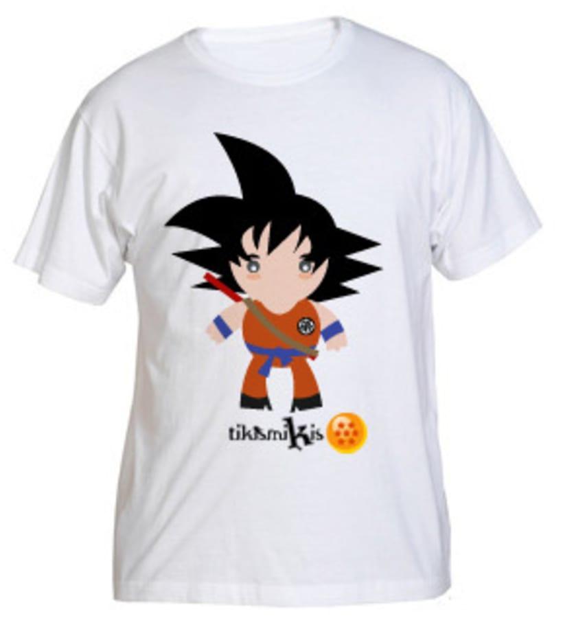 Camiseta Bola de Dragón 3