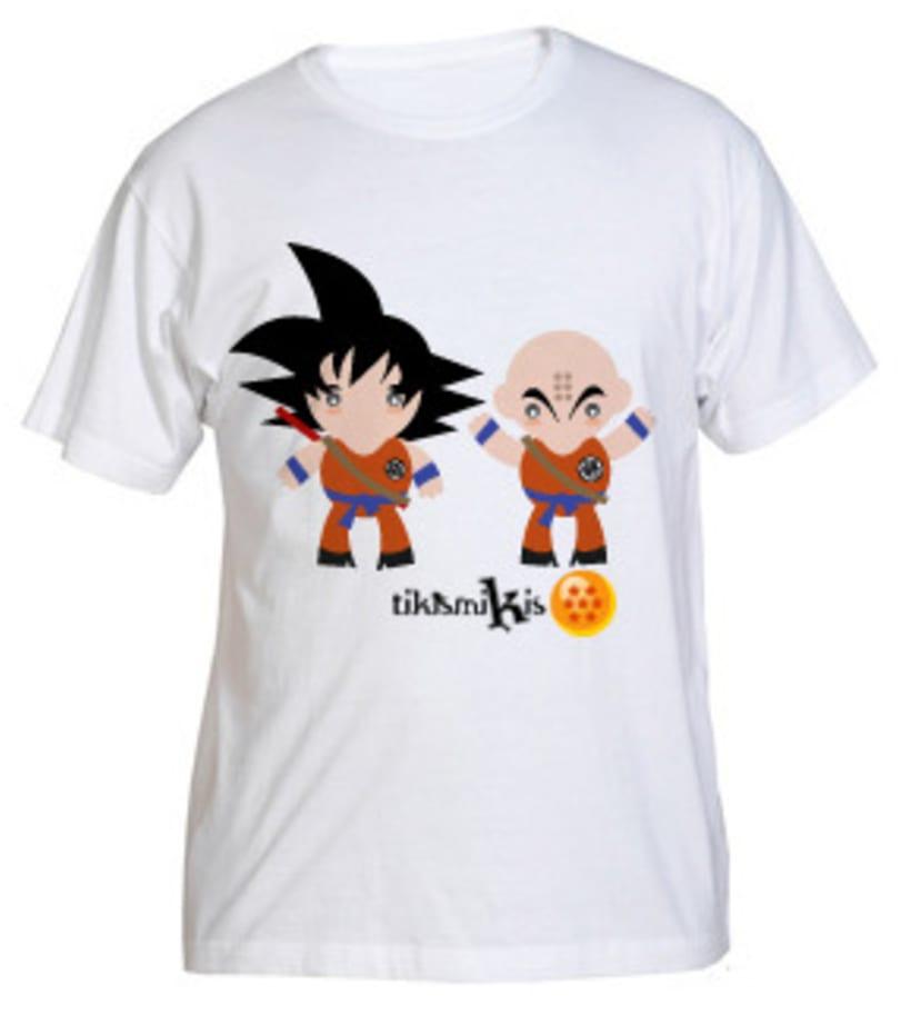 Camiseta Bola de Dragón 2