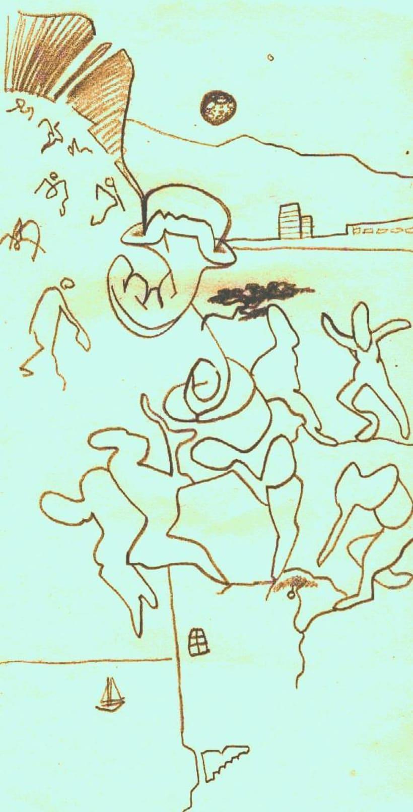 dibujos lapiz/boli 18