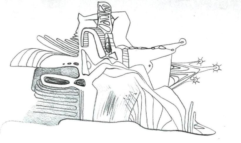 dibujos lapiz/boli 17