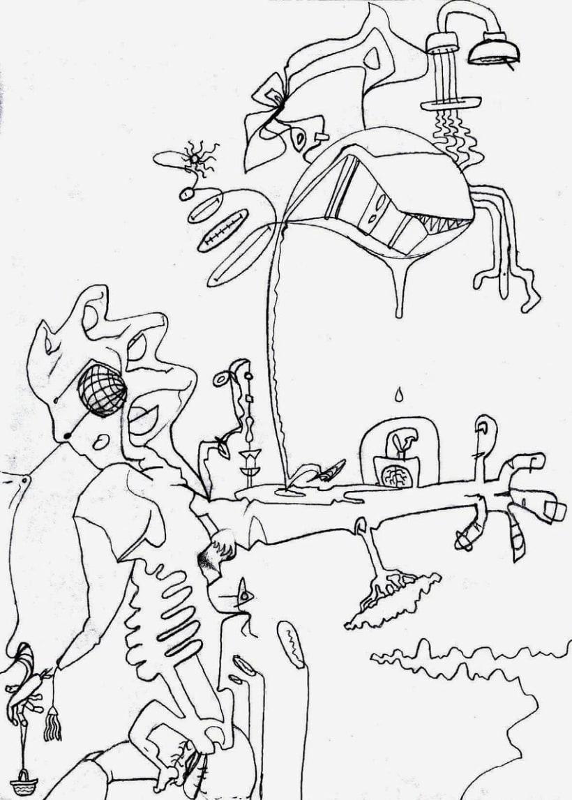 dibujos lapiz/boli 13