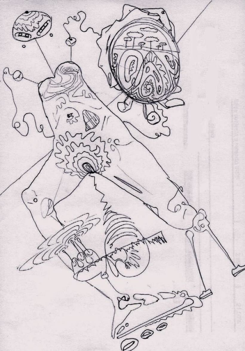 dibujos lapiz/boli 12