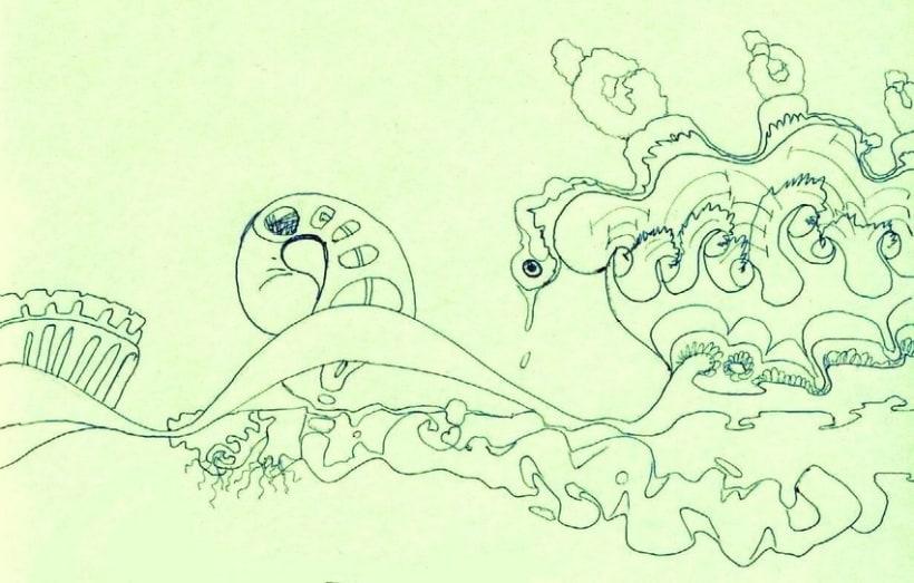 dibujos lapiz/boli 5
