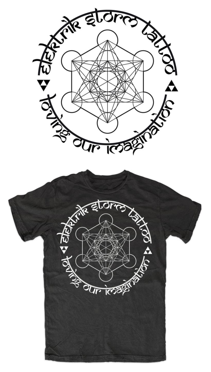 ELEKTRIK STORM TATTOO | camiseta 1